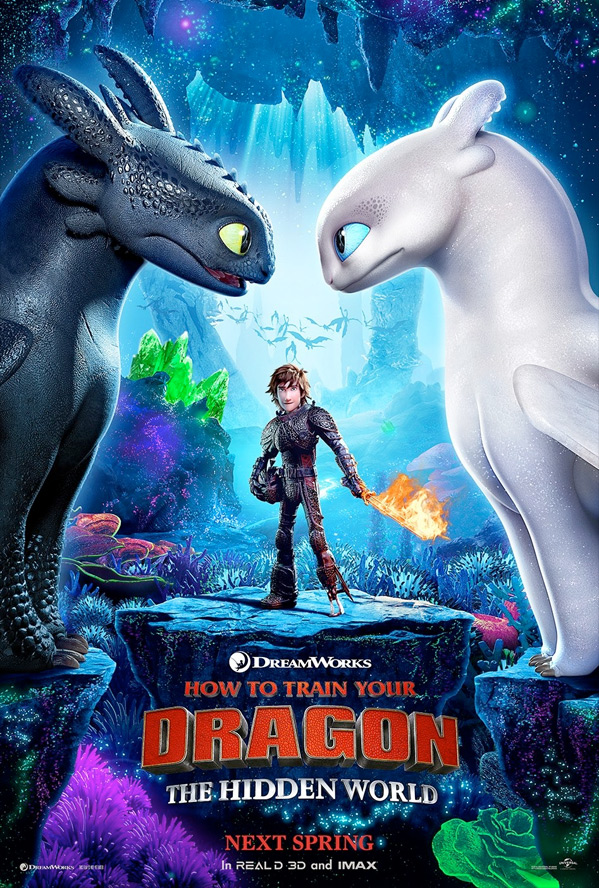 How to Train Your Dragon 3 Poster