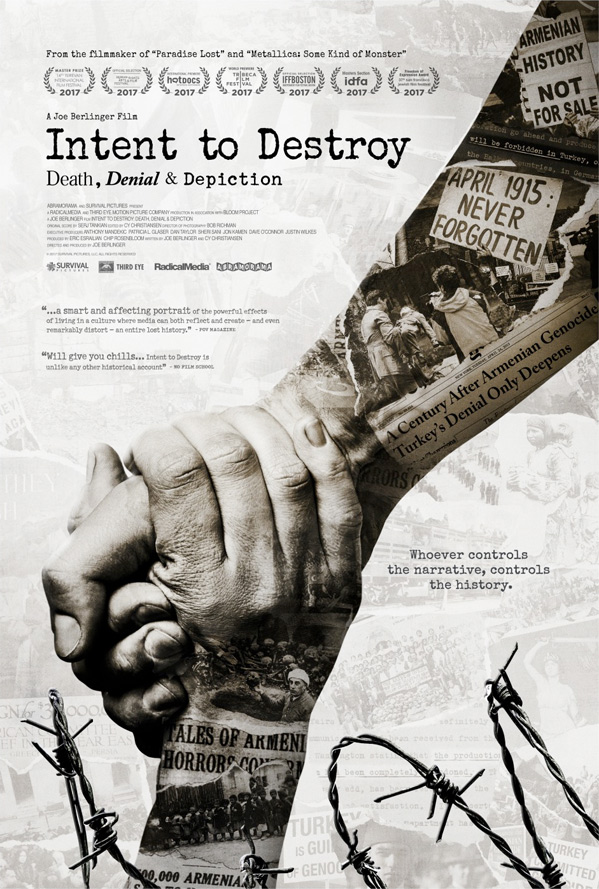 Intent to Destroy Poster