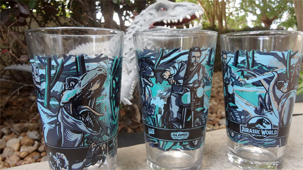 Jurassic World Pint Glass