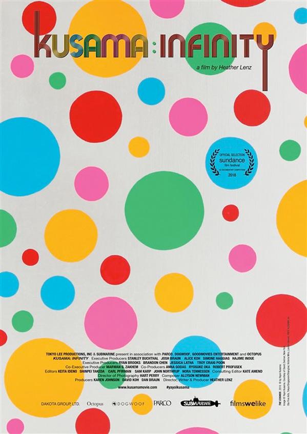 Kusama - Infinity Poster