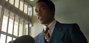Second Trailer for 'Marshall' Starring Chadwick Boseman as Thurgood