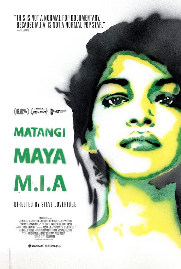Matangi/Maya/M.I.A. Doc Poster