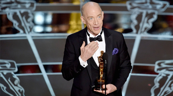 J.K. Simmons Wins for Best Supporting Actor