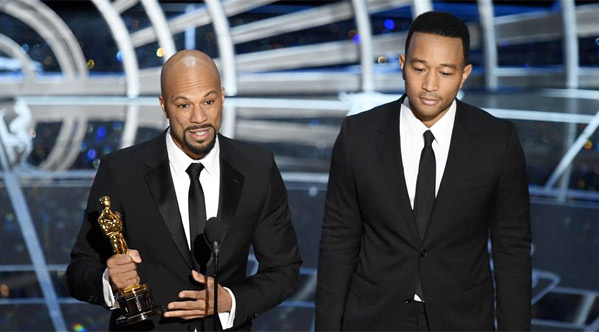 Common & John Legend Win Best Song for 'Glory'