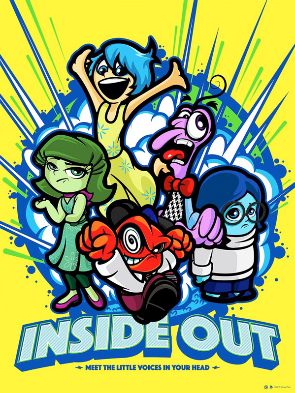 Inside Out - Poster Posse Art