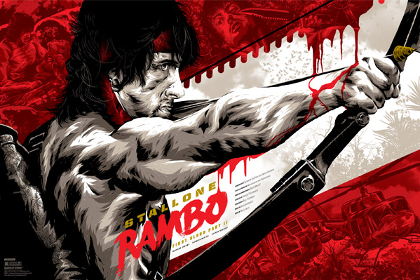 Rambo: First Blood Part II - Anthony Petrie