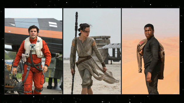 The Force Awakens Behind-the-Scenes Photos