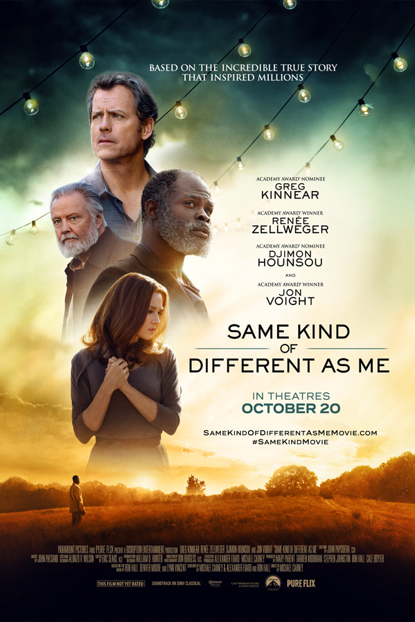 Same Kind of Different as Me Poster