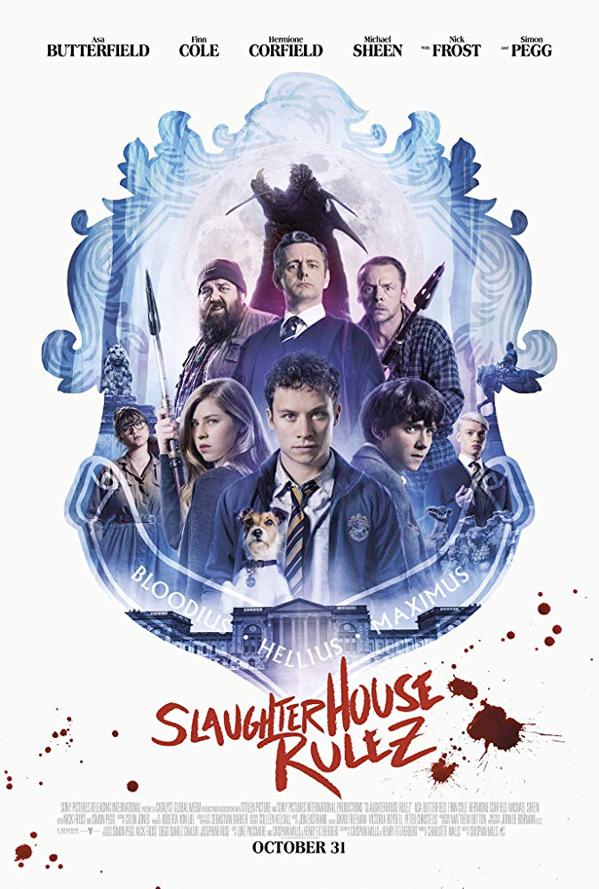 Slaughterhouse Rulez Poster
