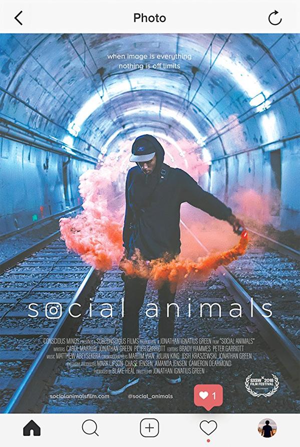 Social Animals Poster