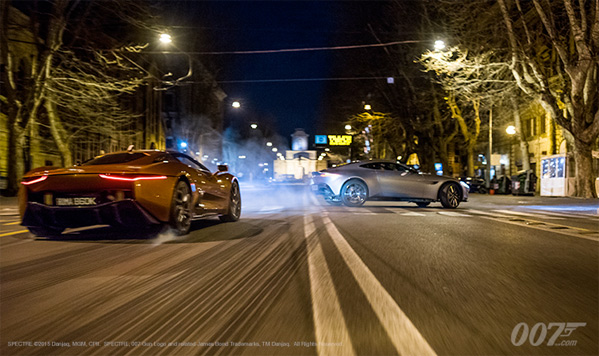 Spectre - Car Chase Video Blog