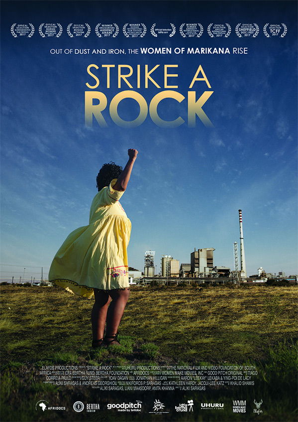 Strike a Rock Poster
