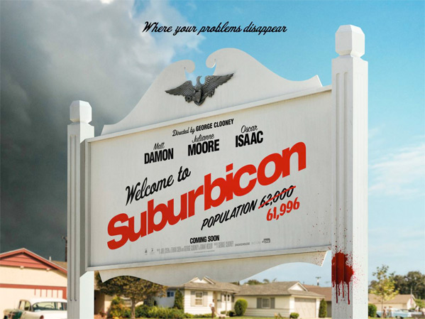 Suburbicon UK Poster