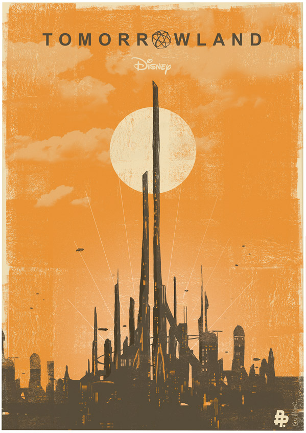 Tomorrowland - Poster Posse