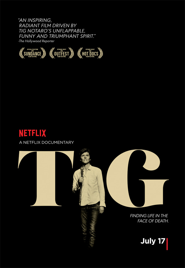 Tig Documentary Poster