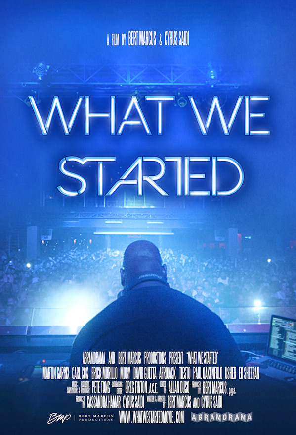 What We Started Poster