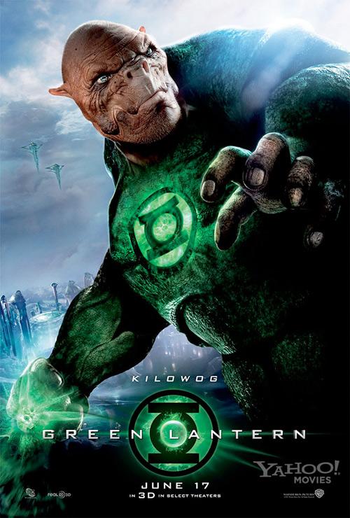 Green Lantern Poster - Kilowog