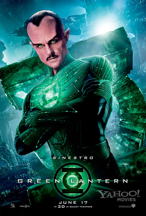 Green Lantern Poster - Sinestro