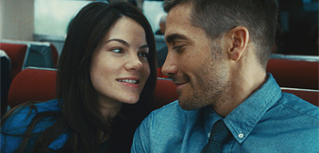 Michelle Monaghan & Jake Gyllenhaal in Source Code