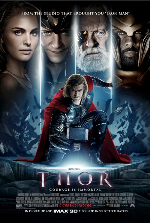 Marvel's Thor Official Poster