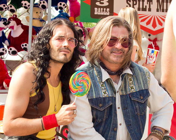 First Look: Alec Baldwin and Russell Brand in Rock of Ages