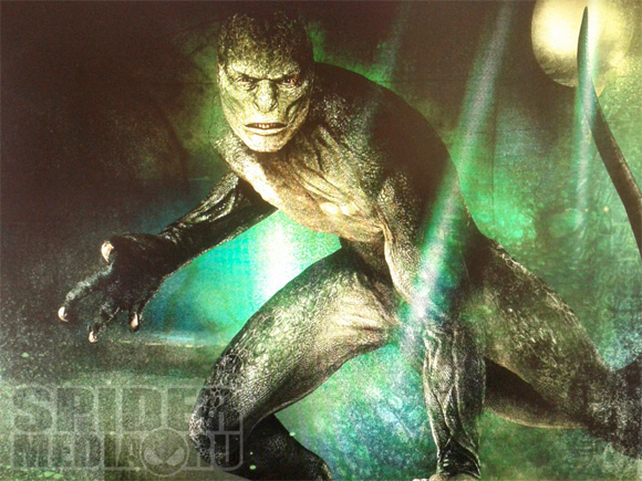 The Amazing Spider-Man - Lizard Concept Art