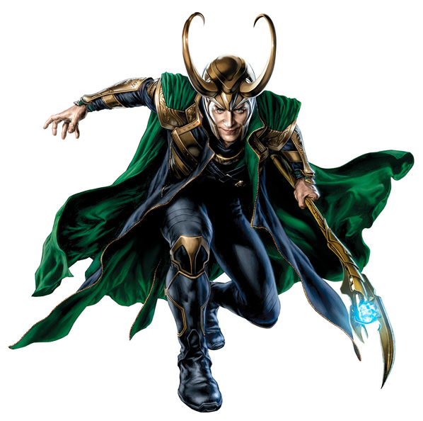 The Avengers Concept Art - Loki