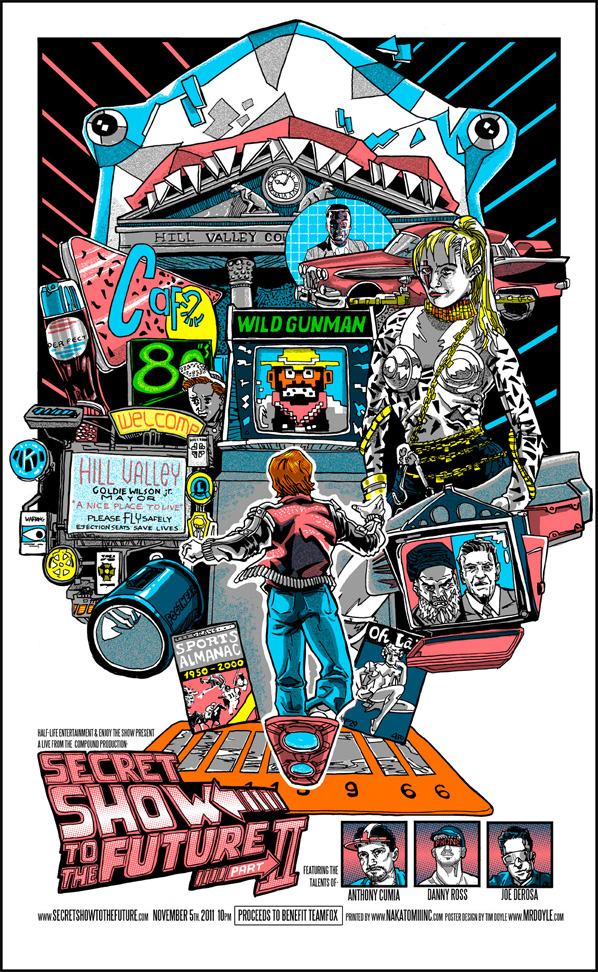 Back to the Future - Tim Doyle Poster