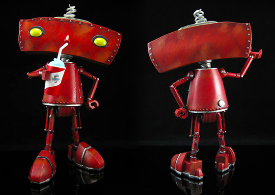 Bad Robot Collectible Figure - Entertainment Earth