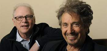 Barry Levinson and Al Pacino