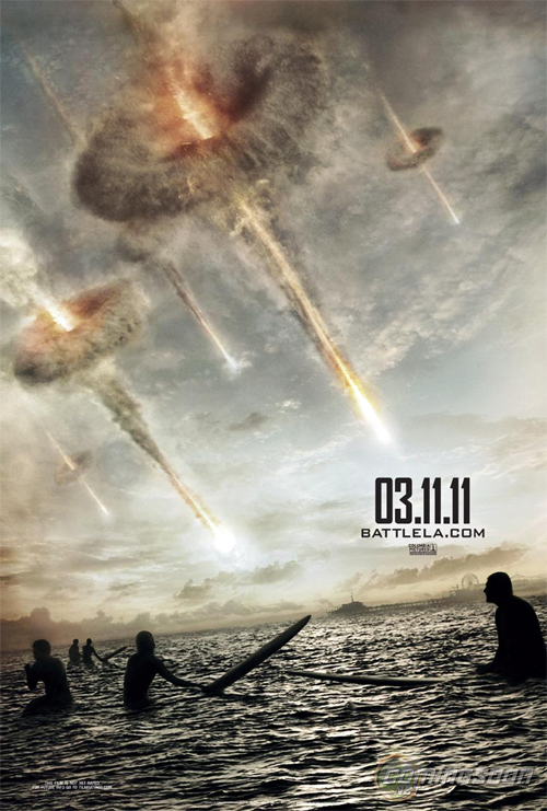 Battle: Los Angeles Teaser Poster