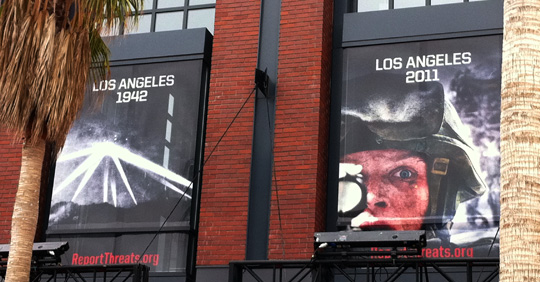 Battle: Los Angeles Comic-Con Viral Banners