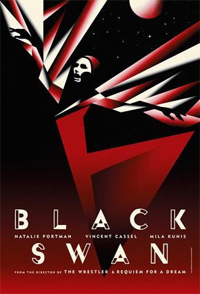 Darren Aronofsky's Black Swan Promo Art