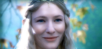 Cate Blanchett as Galadriel