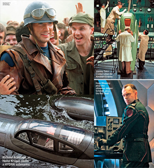 Captain America: The First Avenger Photos