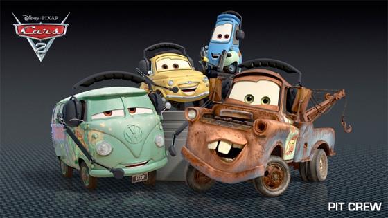 Cars 2 Pit Crew