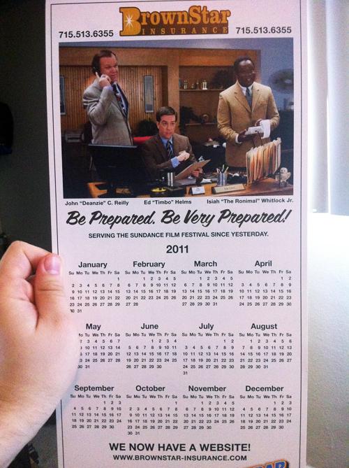 Cedar Rapids Insurance Calendar