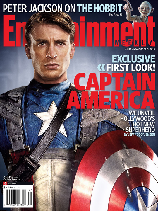 Captain America Entertainment Weekly Cover