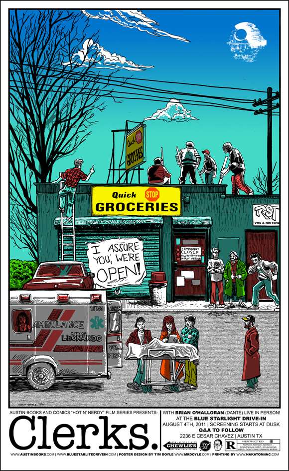 Tim Doyle's Clerks Poster