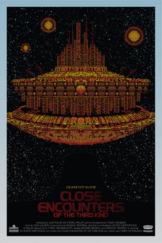 Close Encounters of the Third Kind - Orange