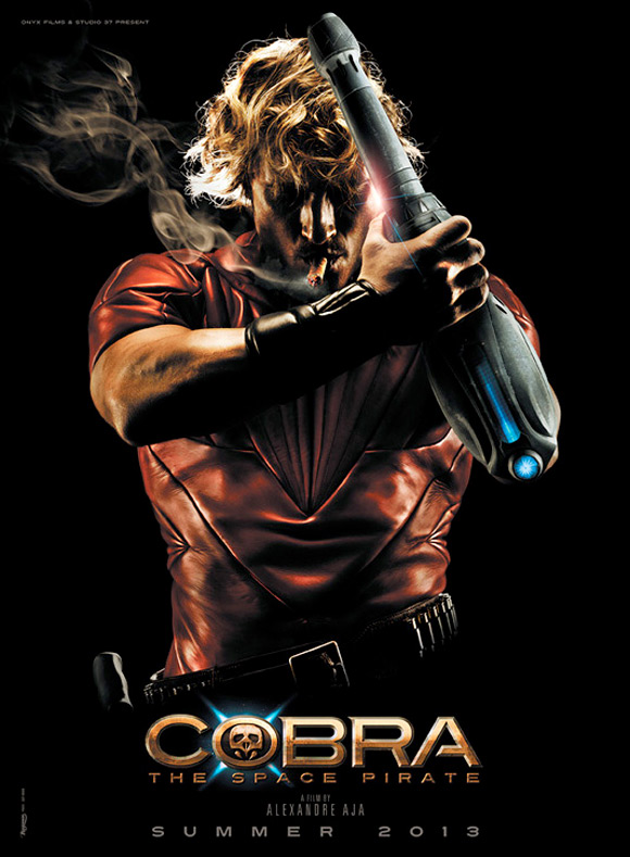 First look promo art from alexandre aja s cobra the space pirate