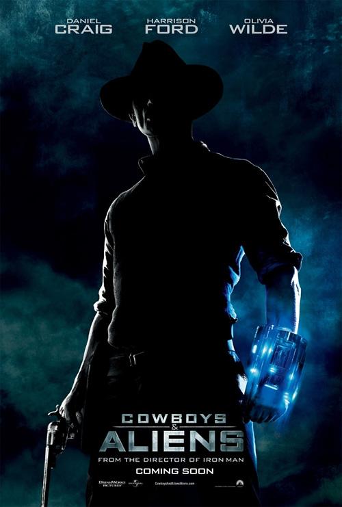 Jon Favreau's Cowboys & Aliens Poster
