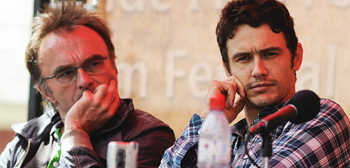 Danny Boyle & James Franco in Telluride