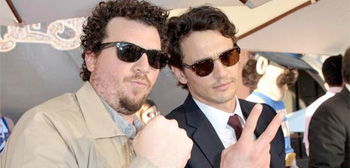 Danny McBride and James Franco
