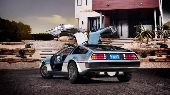 DMCEV DeLorean Exterior