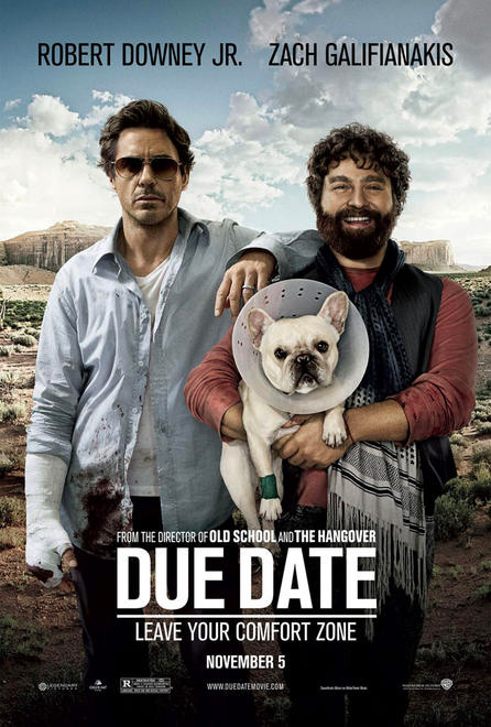 Todd Phillips' Due Date Poster