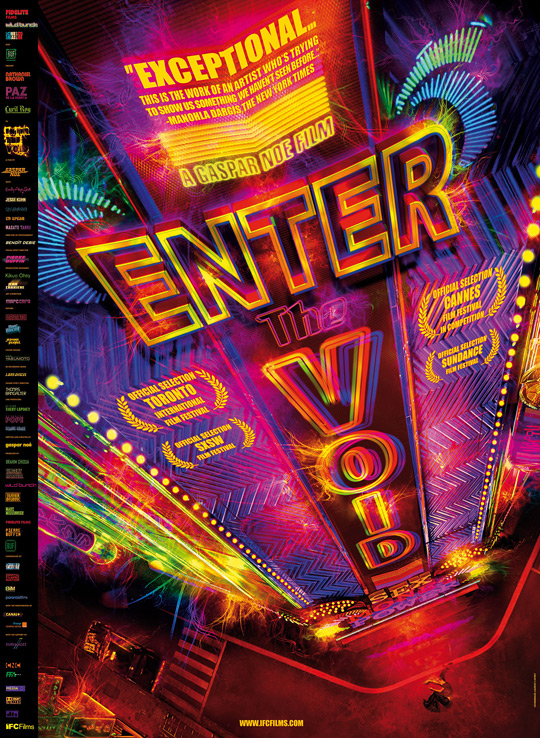 Gaspar Noé's Enter the Void Poster