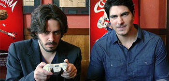 Edgar Wright & Brandon Routh