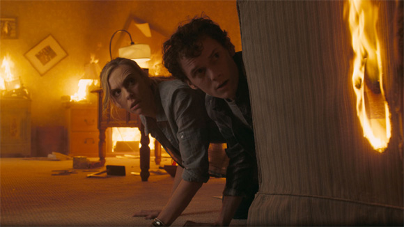 Fright Night - Anton Yelchin and Toni Collette