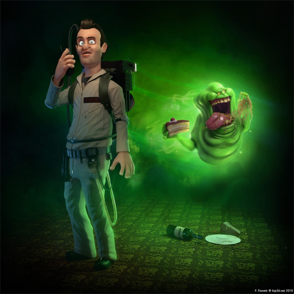 Ghostbusters Computer Animated - Venkman